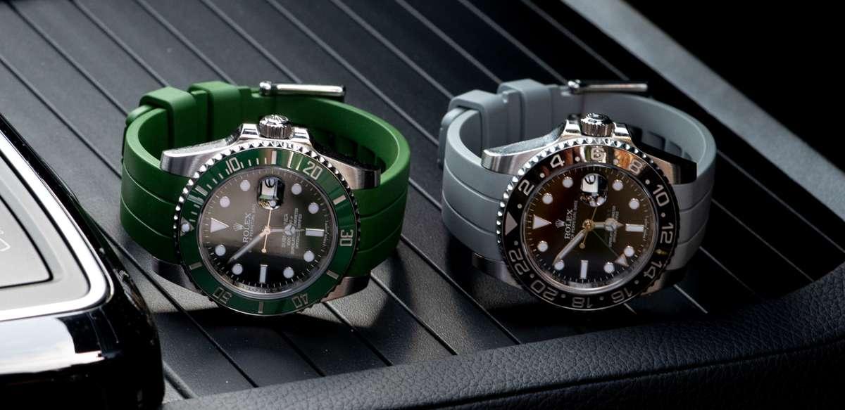 Rolex Rubber Watch Straps