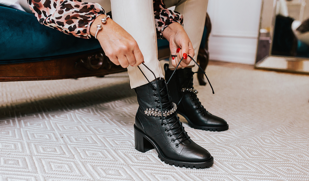 black boots for woman